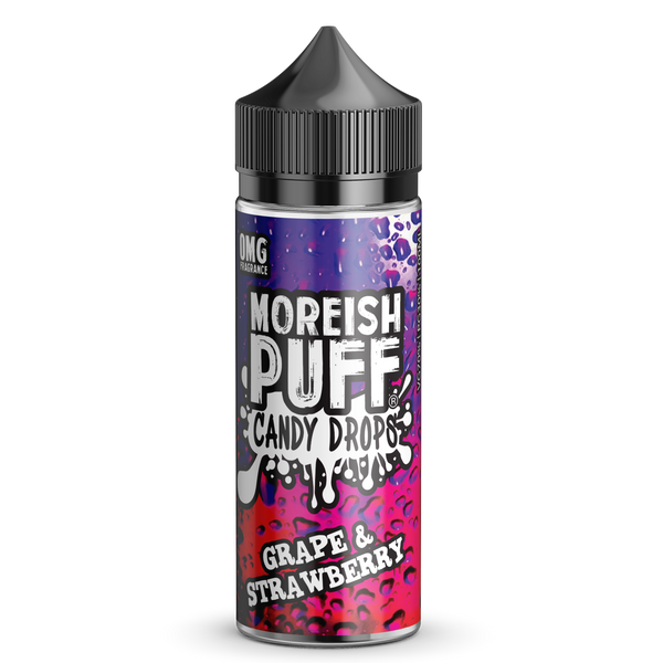 Grape & Strawberry Candy Drops By Moreish Puff 100ml Short Fill
