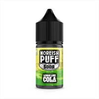 Soda Lemon/Lime Cola E-Liquid By Moreish Puff 25ml Short Fill