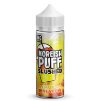 Lemon & Pineapple by Moreish Puff Slushed 100ml Short Fill