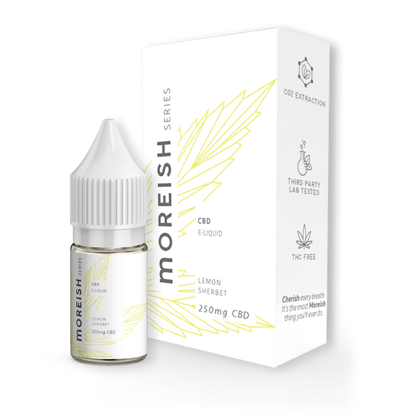 Moreish Series Lemon Sherbet CBD E-Liquid 10ml