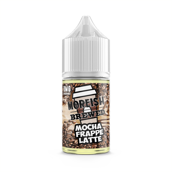 Mocha Frappe Latte E-Liquid by Moreish Brewed 25ml Short Fill