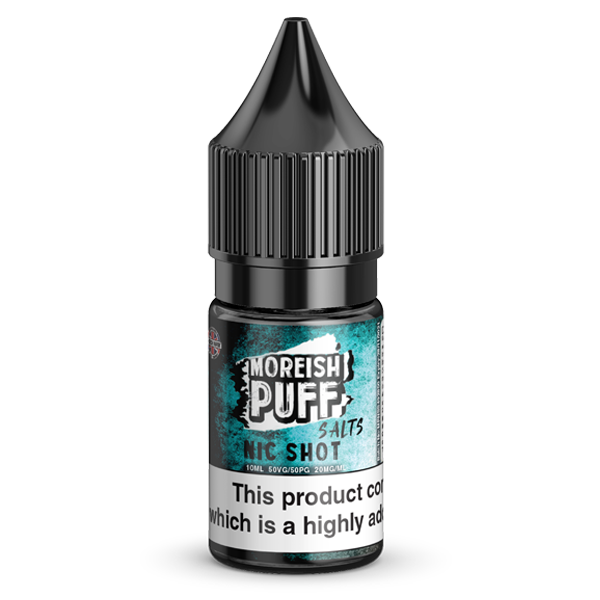Moreish Puff Nic Salt Shot