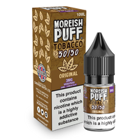 Moreish Puff Tobacco 50/50: Original Tobacco 10ml E-Liquid