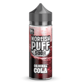 Soda Original Cola E-Liquid By Moreish Puff 100ml Short Fill