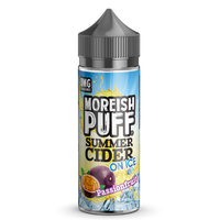 Passionfruit Summer Cider On Ice by Moreish Puff 100ml Short Fill