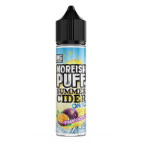 Passionfruit Summer Cider On Ice by Moreish Puff 50ml 0mg Short Fill