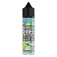 Pear Summer Cider On Ice by Moreish Puff 50ml 0mg Short Fill