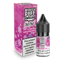Moreish Puff Chilled 50/50: Pink Raspberry Chilled 10ml E-Liquid