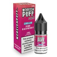 Moreish Puff Pink Raspberry Chilled Nic Salt 10ml TPD