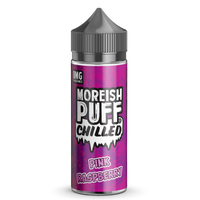 Chilled Pink Raspberry by Moreish Puff 100ml Short Fill
