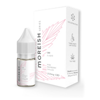 Moreish Series Pink Raspberry Chilled CBD E-Liquid 10ml