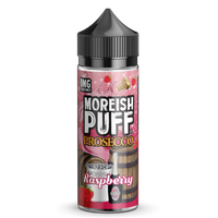 Raspberry Summer Cider On Ice by Moreish Puff 100ml Short Fill