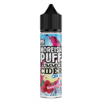 Raspberry Summer Cider On Ice by Moreish Puff 50ml 0mg Short Fill