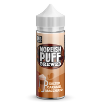 Salted Caramel Macchiato by Moreish Brewed 100ml Short Fill