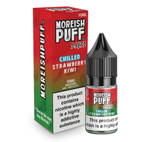 Moreish Puff Strawberry and Kiwi Chilled Nic Salt 10ml TPD