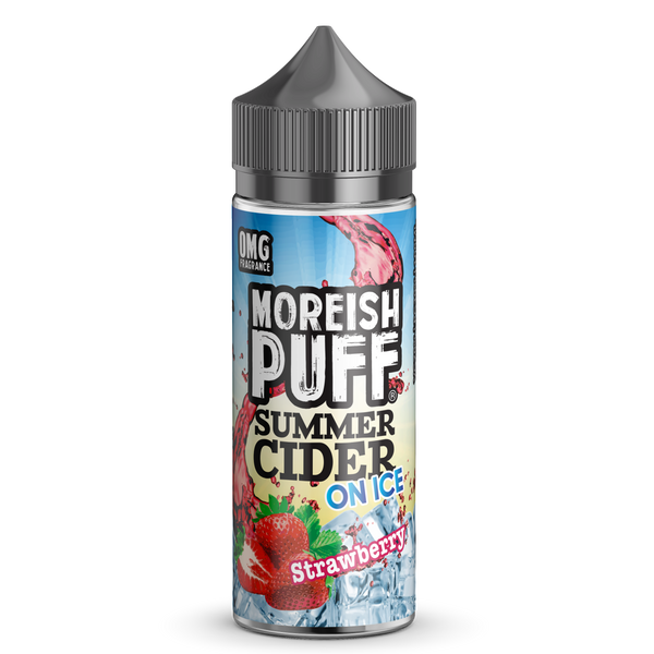 Strawberry Summer Cider On Ice by Moreish Puff 100ml Short Fill