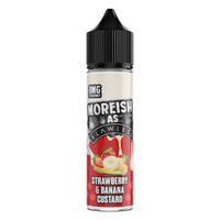 Moreish As Flawless Strawberry Banana 50ml Short Fill E-Liquid
