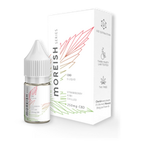 Moreish Series Strawberry and Kiwi Chilled CBD E-Liquid 10ml