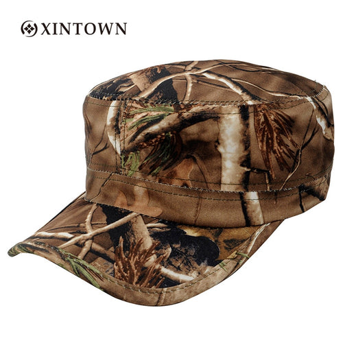 Outdoor Woodland Camouflage Cap