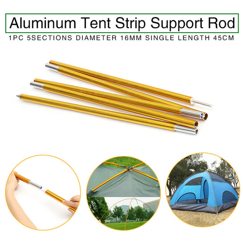 1Pcs Outdoor Camping Tent Pole 16mm