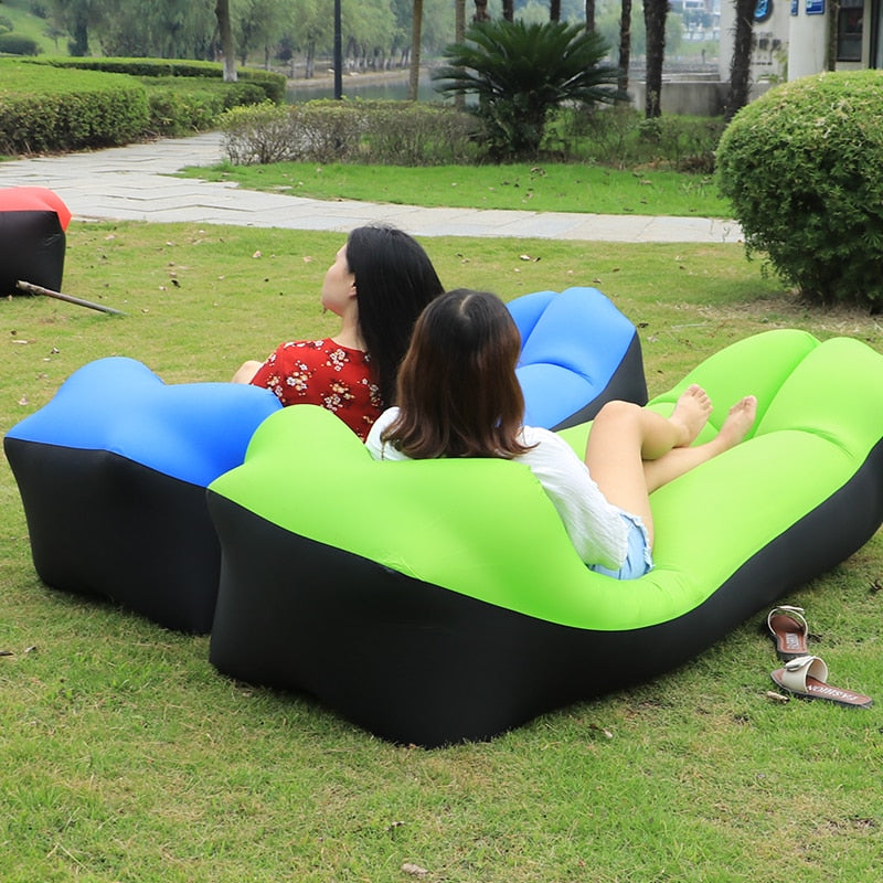 Air Sofa Beach Bed Lounger Bag Mattres