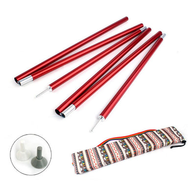 Outdoor Tent Pole 1.5m Aluminum
