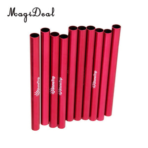 MagiDeal High Quality 10Pcs Aluminium