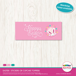 Easter Gift Printable - Bag Topper - Kids Prints Online
