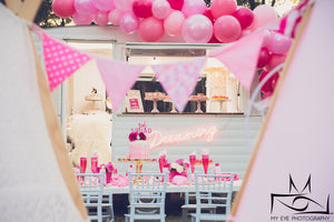 Glamping Party | Printable Stationery - Kids Prints Online
