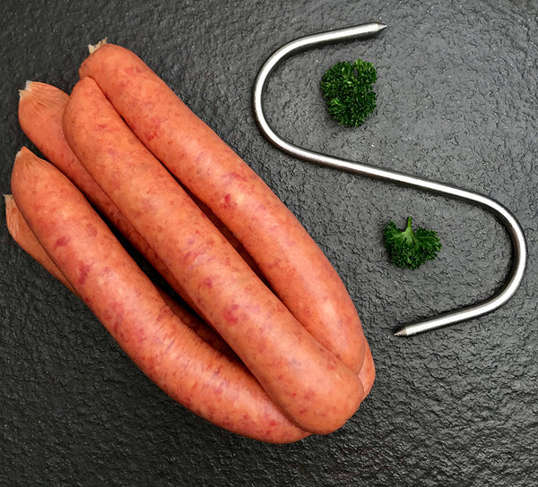 BBQ BEEF SAUSAGES