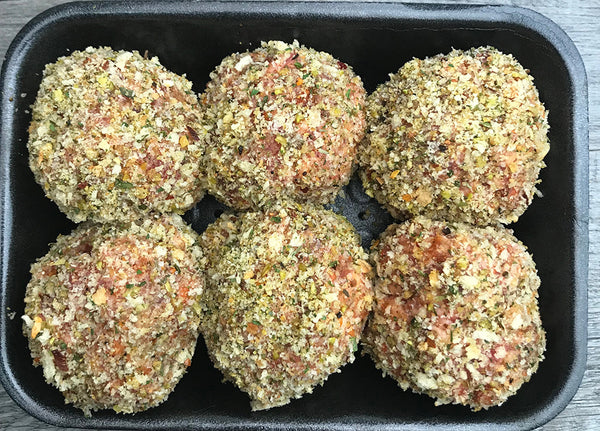 HERB & GARLIC RISSOLES
