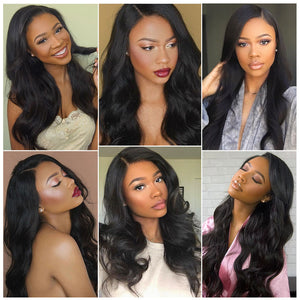 Yolissa Hair Body Wave Hair Lace Front Wigs Human Hair Wigs For Black Women