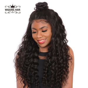 Wiggins Hair 13x4 Lace Front Wig Loose Deep Human Hair Wigs Pre-Plucked With Baby Hair