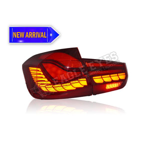 BMW 3 Series F30 M4 LED Sequential Signal (GTS STYLE) (Pre-Facelift & Facelift) Taillamp 12-15