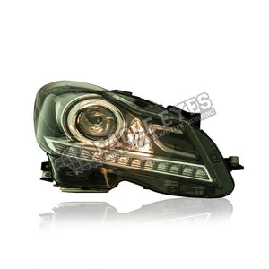 Mercedes Benz C-Class W204 Projector LED DRL Headlamp 11-14 (Facelift)