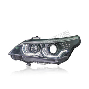 BMW 5 Series E60 Projector LED Headlamp 03-07 (3D Angle Eyes)