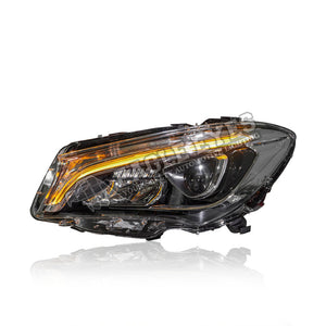 Mercedes Benz CLA-Class W117 Projector LED DRL Headlamp + One Touch Blue 16-19