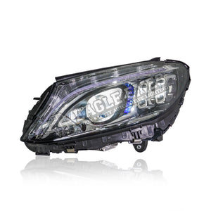 Mercedes Benz C-Class W205 Projector LED + Welcome Light Headlamp 15-19