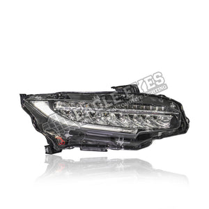 Honda Civic FC LED Sequential Signal + One Touch Blue + Welcome Light Headlamp 16-19 (V3)
