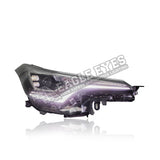 Toyota C-HR  Projector LED Sequential Signal Headlamp 17-19