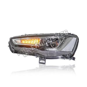 Mitsubishi Lancer/Inspira Projector LED Sequential Headlamp 08-15 (Red Demon)