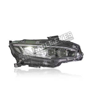 Honda Civic FC Projector LED Sequential Signal Headlamp+ Welcome Light 16-19
