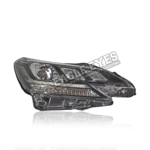 Toyota Mark-X Projector LED Sequential Signal + One Touch Blue Headlamp 13-17 (Red Demon)