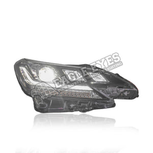 Toyota Mark-X Projector LED Sequential Signal + One Touch Blue Headlamp 14-17 (Red Demon)