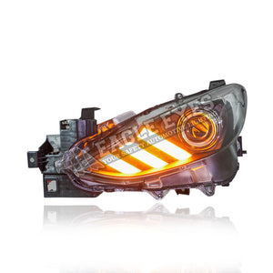 Mazda 3 Projector LED Sequential Signal Headlamp 17-20