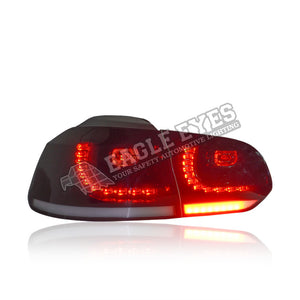 Volkswagen Golf MK6 LED Sequential Signal Taillamp (GTI Style) 08-12
