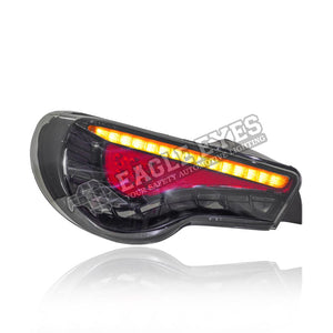 Toyota GT-86 LED Sequential Signal + Welcome Light Taillamp 12-18