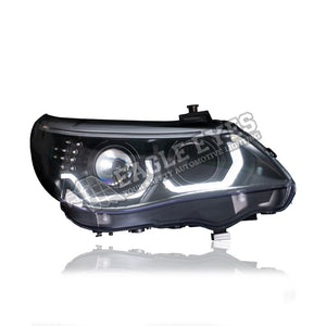 BMW 5 Series E60 Projector LED Headlamp 08-09 (3D Angle Eyes)