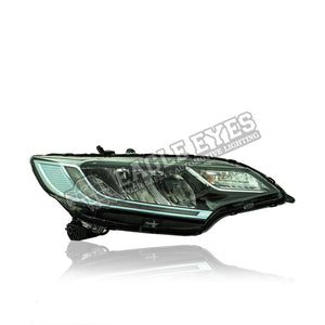 Honda Jazz GK5 LED Sequential Signal + One Touch Blue + Welcome Light Headlamp 14-17 (V4)