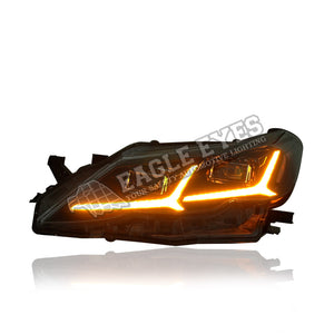 Toyota Reiz/Mark-X  LED Sequential Headlamp+One Touch Blue+Welcome Light 14-17